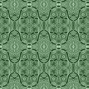 Moroccan Tile (green)