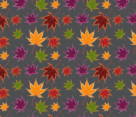 Maple fabric by andrea11 on Spoonflower - custom fabric