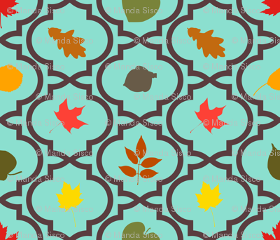 Quatrefoil Leaves