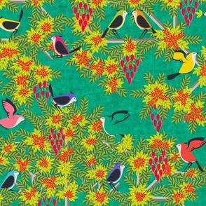 Le Jardin Des Oiseaux Vert