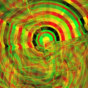 Abstract Bulls-eye 16