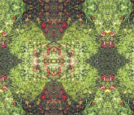 """maple leaves in autumn fabric by frances""""fancy_felter"""" on Spoonflower - custom fabric"""