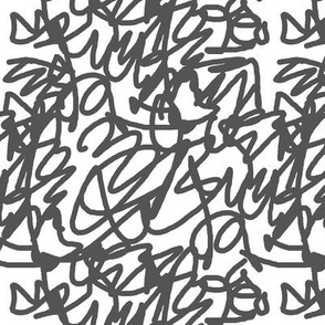 scribble grey
