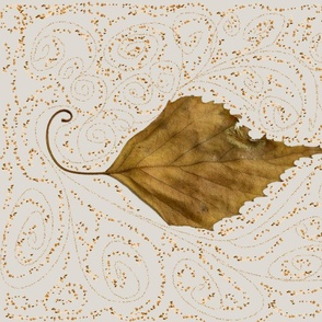 curling, swirling, leaf