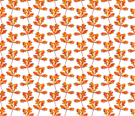 Autumn Leaf fabric by marylina on Spoonflower - custom fabric