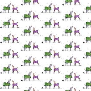 Snowflake Catcher Horses