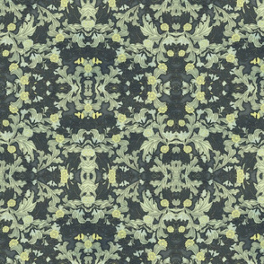 victorian wallpaper green
