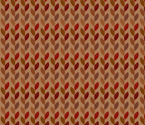 fall_leaves fabric by stella12 on Spoonflower - custom fabric