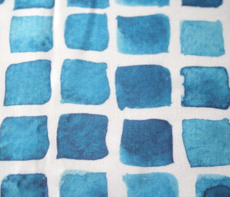 Blue Watercolor Blocks
