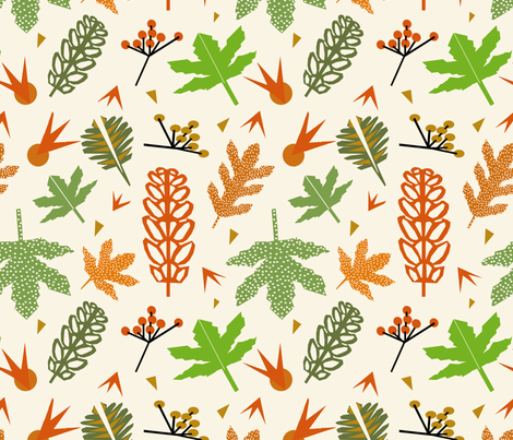 Herbst fabric by mirjamauno on Spoonflower - custom fabric