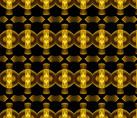 Sine Dot Tile in Yellow