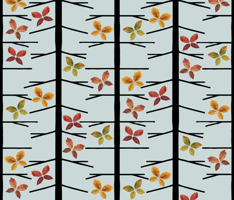 Autumn Butterflies fabric by ms_majabird on Spoonflower - custom fabric