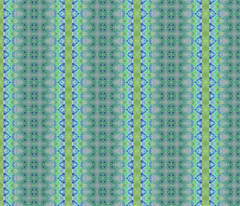 Tissue Dying in Aqua fabric by koalalady on Spoonflower - custom fabric
