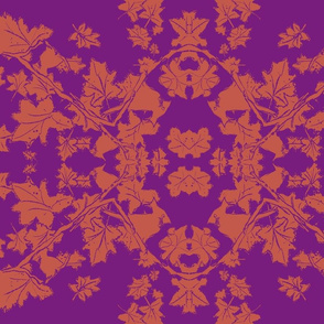 Fall purple