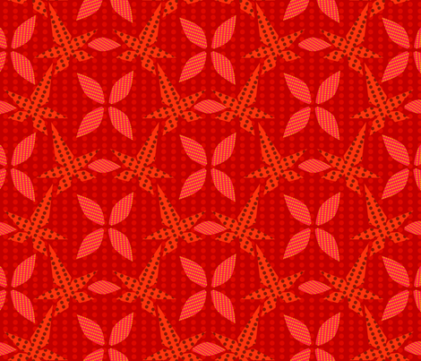 FALL_LEAVES fabric by yasminah_combary on Spoonflower - custom fabric