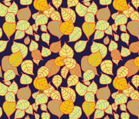 Leaves of Fall fabric by me_amelia on Spoonflower - custom fabric