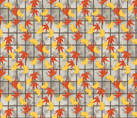 Kōyō fabric by siya on Spoonflower - custom fabric