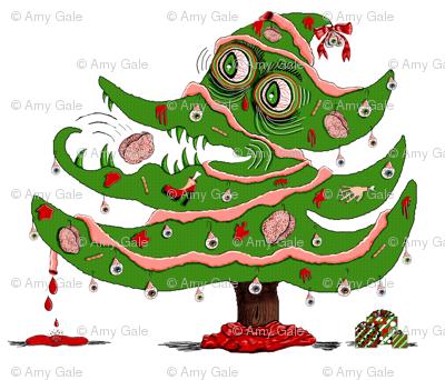 Zombie Christmas Tree