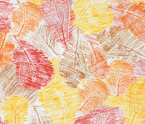 Crayon Rubbings fabric by resdesigns on Spoonflower - custom fabric