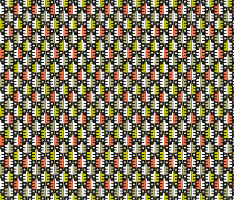 Oakhurst (Black) fabric by pennycandy on Spoonflower - custom fabric