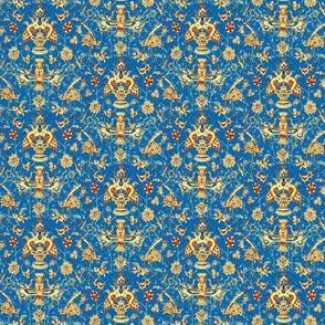 Persian Stripes Sky Blue