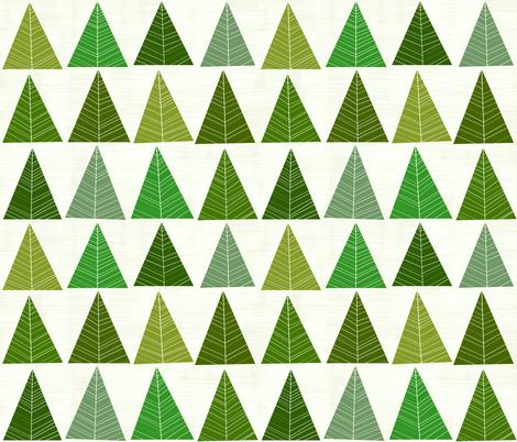 Forest by Friztin fabric by friztin on Spoonflower - custom fabric