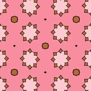 Pinky Brown Pattern