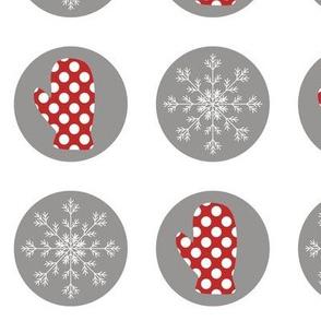 Christmas Mittens Polka