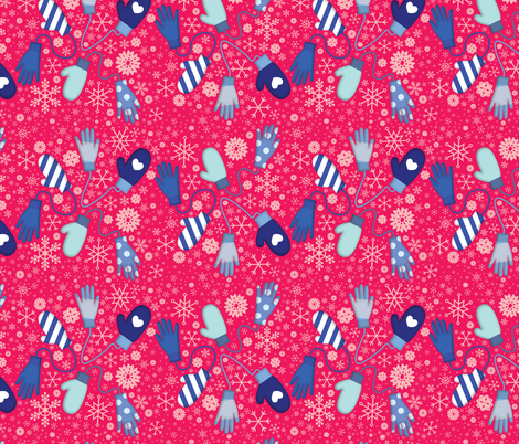 The Perfect Match fabric by hellomylove on Spoonflower - custom fabric