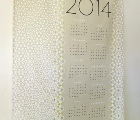 mashrabiya 2014 calendar