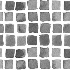 Gray Watercolor Blocks