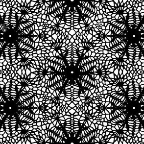 wrap_paper_crocus_snowflake_black_white