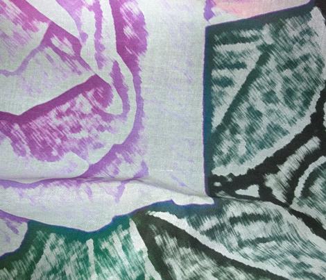 Purple Rose Pencil Sketch
