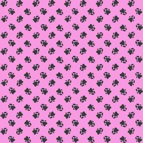 Pawprints Pink-ed