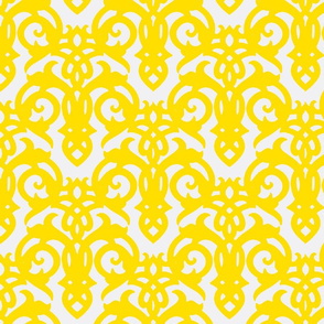 Yellow Imperial Damask