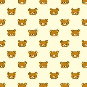 Rila Bear Kawaii Small Print