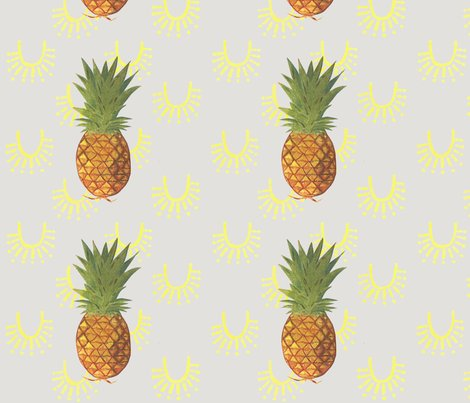 pina colada fabric renaegalvin spoonflower. Black Bedroom Furniture Sets. Home Design Ideas