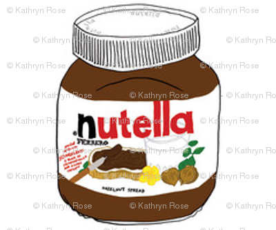 Nutella Kawaii Chocolate Yum