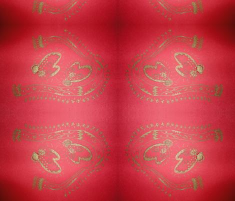 Christmas Mittens fabric by atsch on Spoonflower - custom fabric