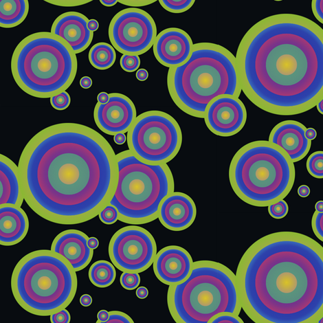 Bubbles fabric by nlsd on Spoonflower - custom fabric