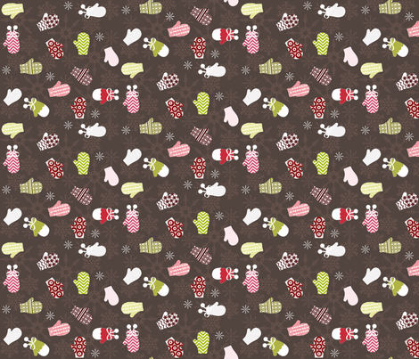 Festive Fingers fabric by graceful on Spoonflower - custom fabric