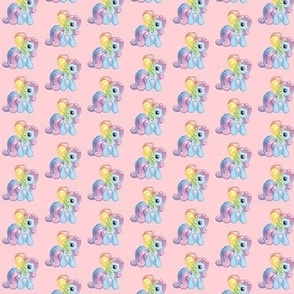 MLP Pastel Rainbow Pony Kawaii