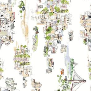 SF Hill House wall paper_Vertical run prints