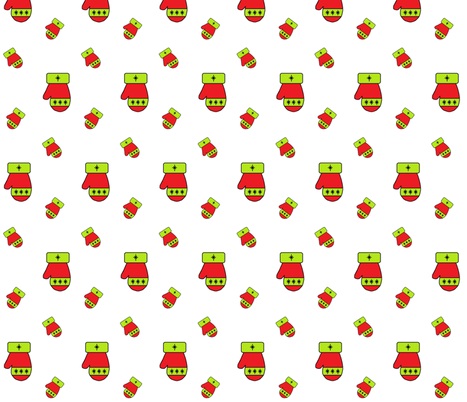 mitten2 fabric by closet_crafter on Spoonflower - custom fabric