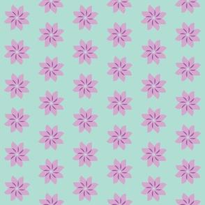 flower green purple