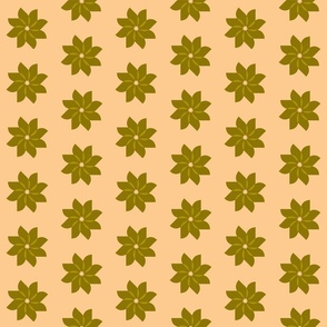 flower cream and olive
