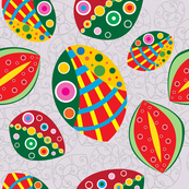 Man-o-wars on Watermelons