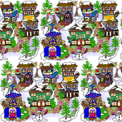 Mittenham_Christmas_village