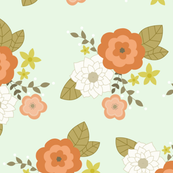 Minty Floral