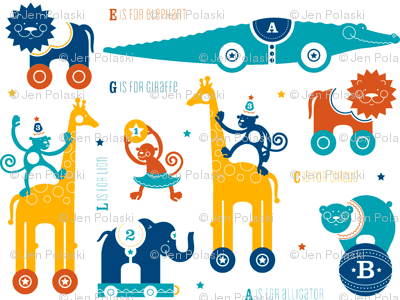 Circus Animals Primary